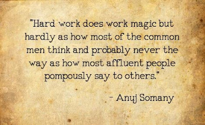 Anuj Somany Quotes On Hard Work