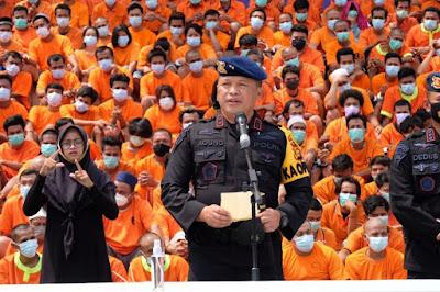 Operasi Antik, Polda Riau Amankan 463 Pelaku