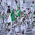 Team Nigeria in stylish green and white outfits for Olympic Ceremony (Photos).