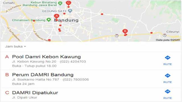 Bus Damri Bandung : Tarif, Jadwal dan Jam Operasional
