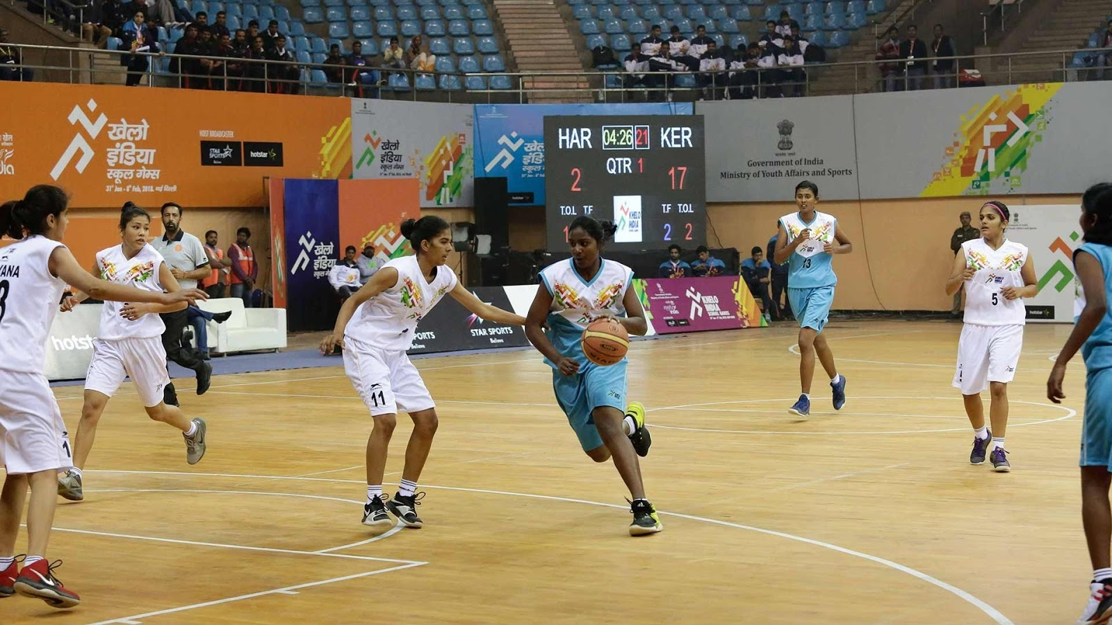hoopistani khelo india selects 40 young basketball players for