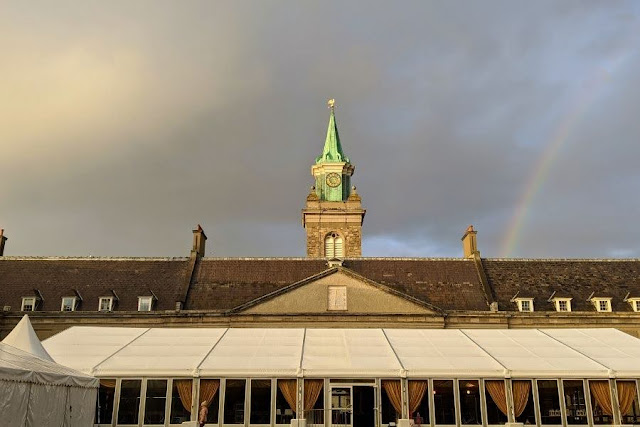 Rainbow over Royal Kilmainham Hospital