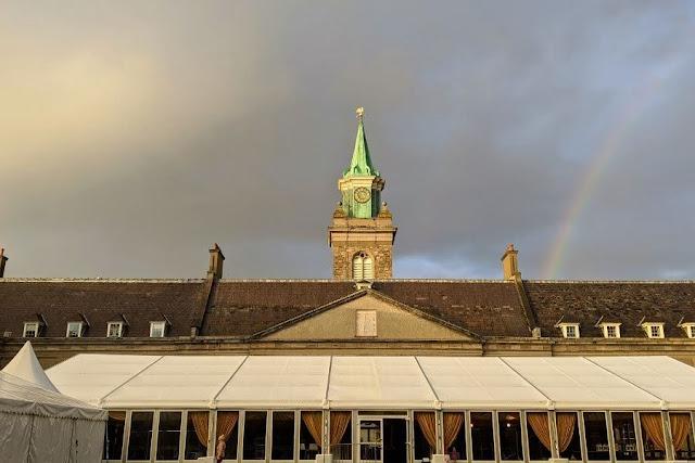 Rainbow over Royal Kilmainham Hospital