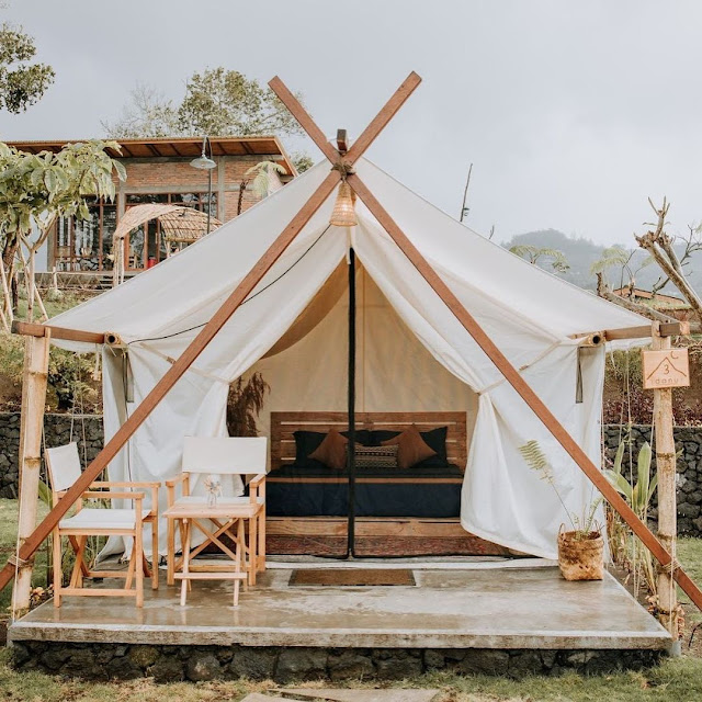 Harga Penginapan Alam Caldera Camping Kintamani