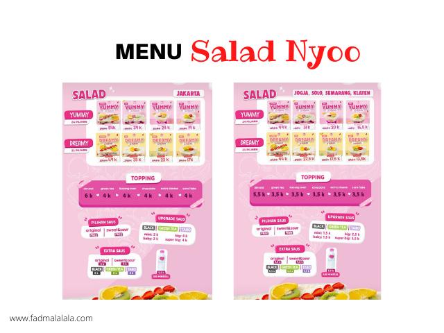menu salad nyoo