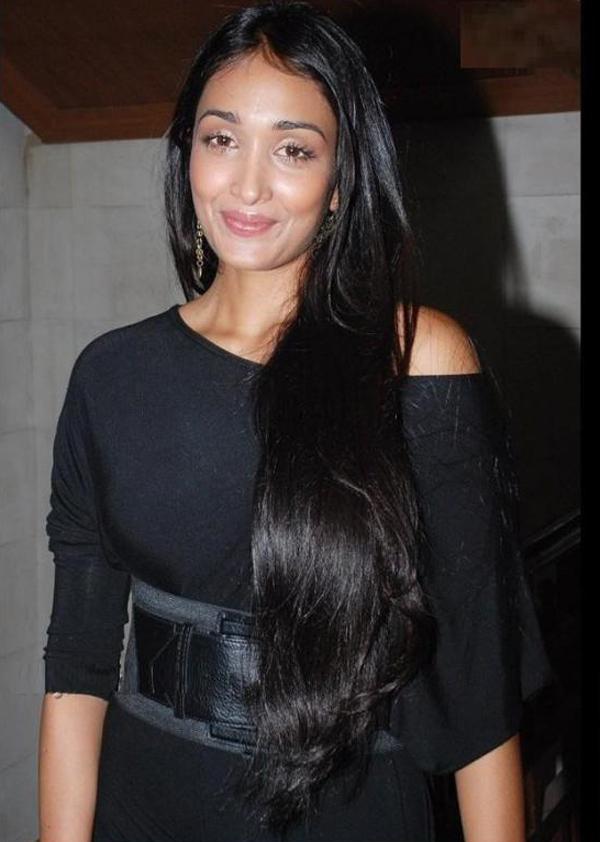 Cute Indian Girl Child Wallpaper Jiah Khan Long Hair Hot Pictures Hot Actress Photo Gallery