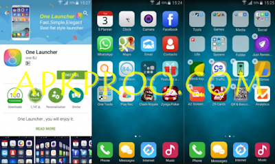 Download One Launcher Apk Terbaru For Android