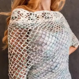 Blusa Malibú a Crochet