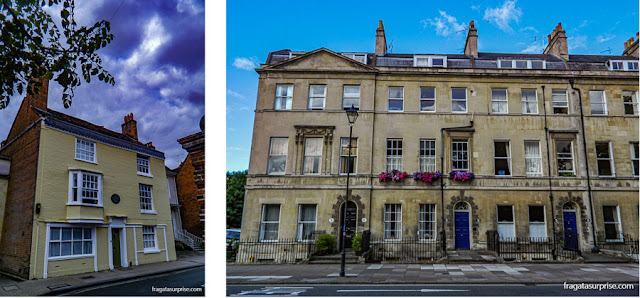 Casas de Jane Austen em Winchester e Bath, Inglaterra
