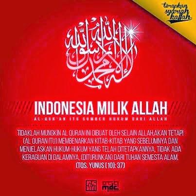 Indonesia Milik Allah SWT