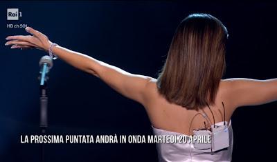 Serena Rossi foto canzone segreta 16 aprile