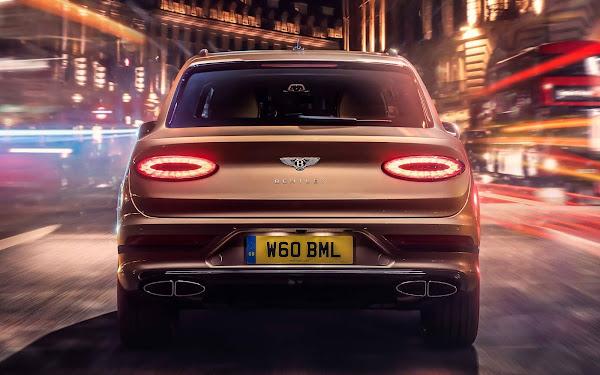 Bentley lança novo Bentayga Plug-in Hybrid 2021 - fotos