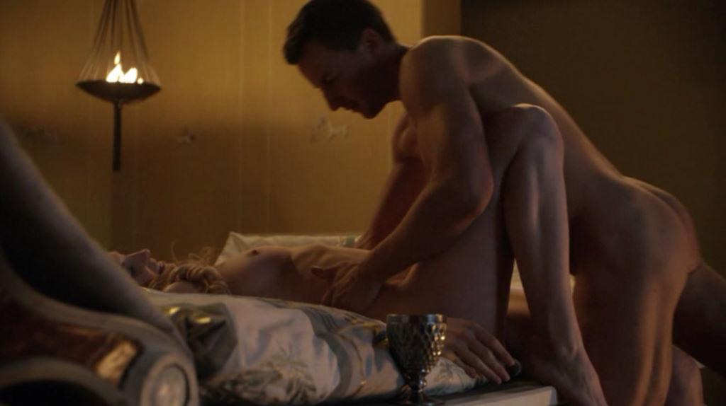 Spartacus escena de orgía 02