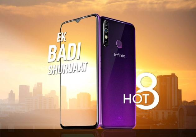 Smartphone Canggih Infinix Hot 8 Resmi Rilis di Indonesia, Harga 1 Jutaan