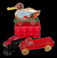 Τα πρώτα ξύλινα μοντέλα Lego