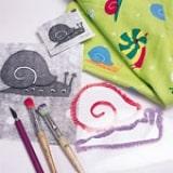 Fabric Pattern Stencils - Step 1