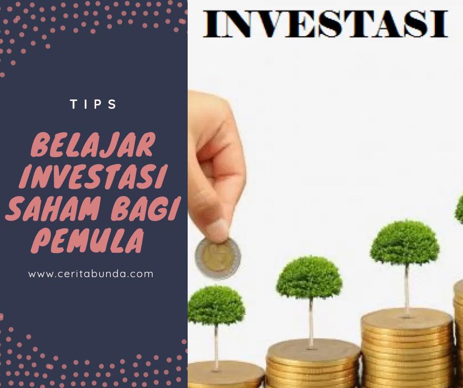 Tips Belajar Investasi Saham Bagi Pemula