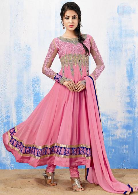 model baju gamis india