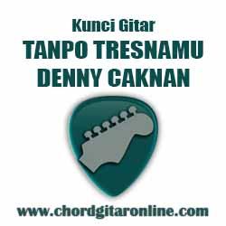 Kunci Gitar Tanpo Tresnamu By Denny Caknan Kunci Gitar DENNY CAKNAN - TANPO TRESNAMU (Nada Dasar C)