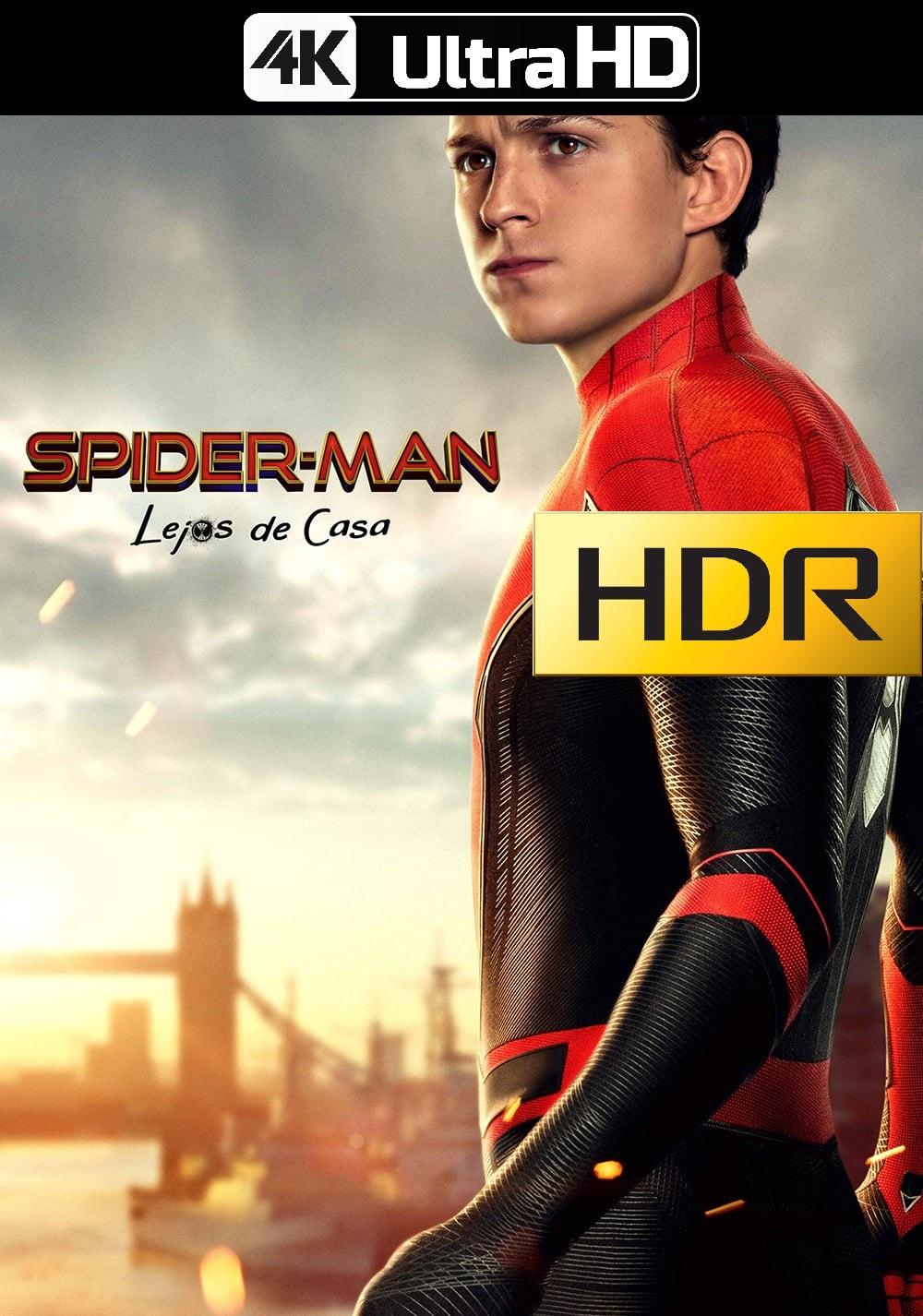 Spider-Man: Lejos de casa (2019) IMAX 4K UHD HDR Web-DL Latino