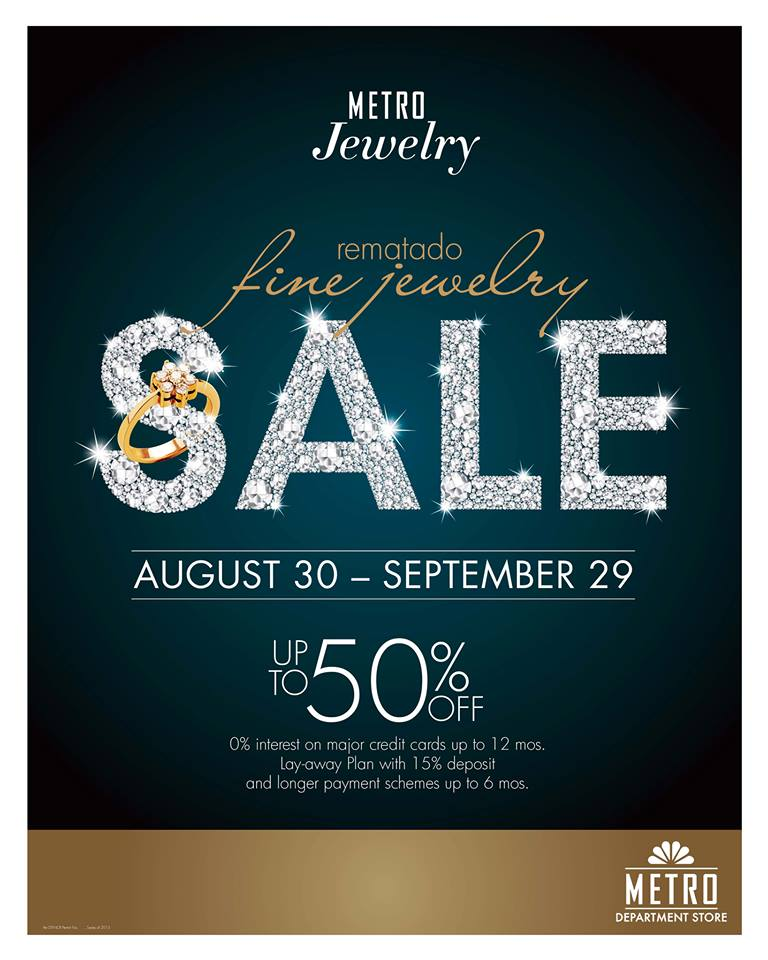 jewelry sale manila shopper metro jewelry sale sept 2013 7492