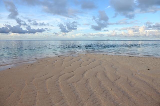 Pantai Bikini Atoll Pasifik Selatan