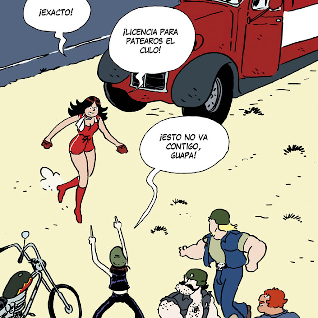 shoo bop Melvin illustration drawing comic Artur Laperla