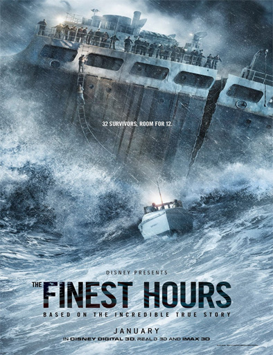 Ver La hora decisiva (The Finest Hours) (2016) Online