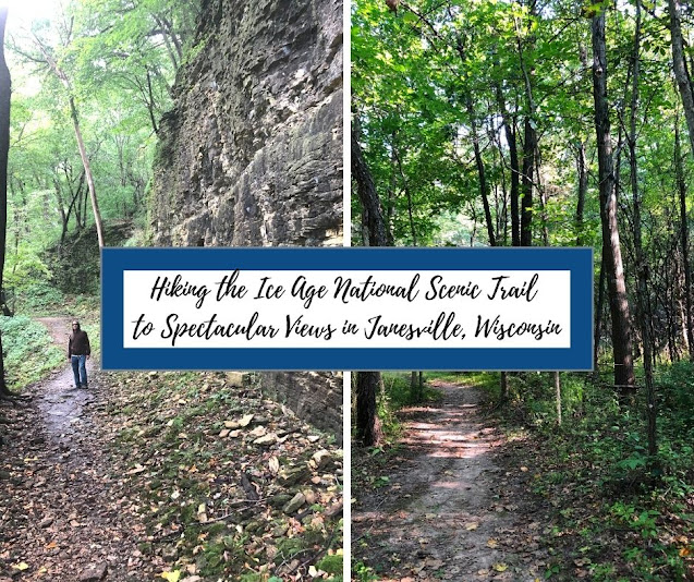 Hiking the Ice Age National Scenic Trail to Spectacular Views in Janesville, Wisconsin