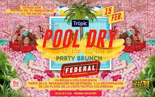 FIESTA Pool Dry Brunch de San Valentin