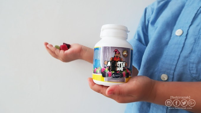 Supplement Untuk Kanak-Kanak - Al Fateh Junior