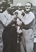 E. Bodo i A. Dymsza z jedną ze swoich córek