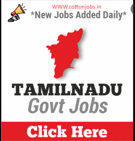 TAMIL NADU GOVERNMENT JOBS LIST OUT