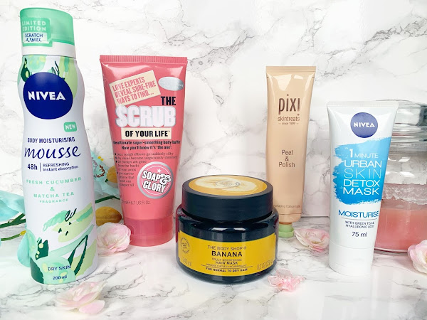 My Current Go-To Pamper Products