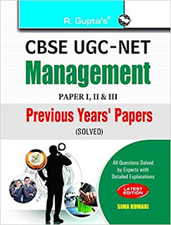 UGC-NET: Management Previous Years Papers (I, II and III) Solved
