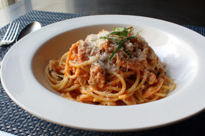 Chicken Spaghetti – Because Cows and Pigs Can't Fly Either