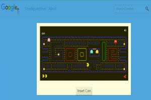 game Interaktif di Google Doodle PAC-MAN
