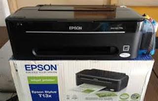 Memperbaiki Head Printer Epson T13