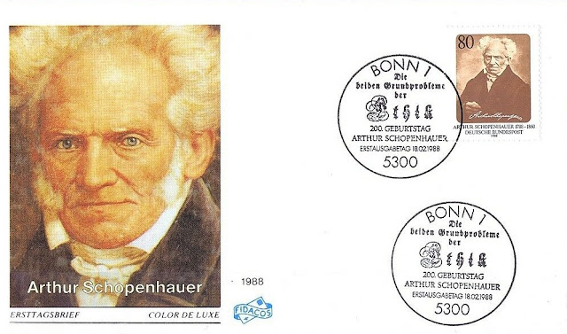 West Germany  Arthur Schopenhauer FDC
