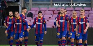 تشكيلة برشلونة ضد ليفانتي في الدوري الاسباني والقنوات الناقلة