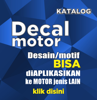 decal sticker aerox Intermilan custom desain suka suka