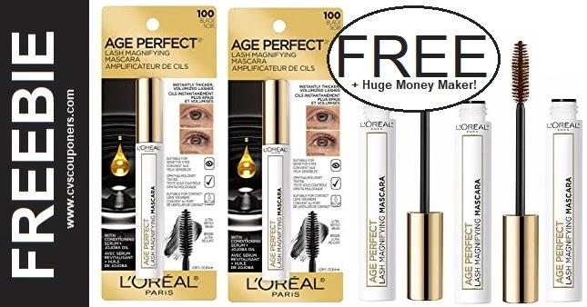 FREE L'Oreal Mascara at CVS 9-12-9-18