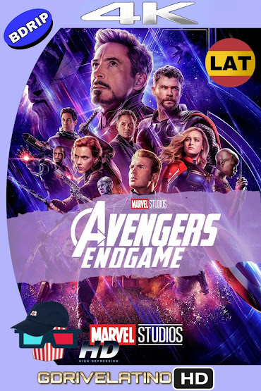 Avengers: Endgame (2019) BDRip 4K HDR Latino-Ingles MKV