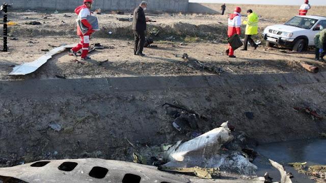 """منها """"طلب المسامحة"""".. 5 نقاط ببيان الجيش الإيراني حول اسقاط الطائرة الأوكرانية"""