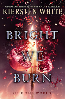 Adelantos de Bright We Burn - Kiersten White