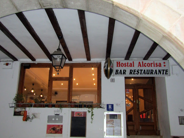 hostal restaurante alcorisa