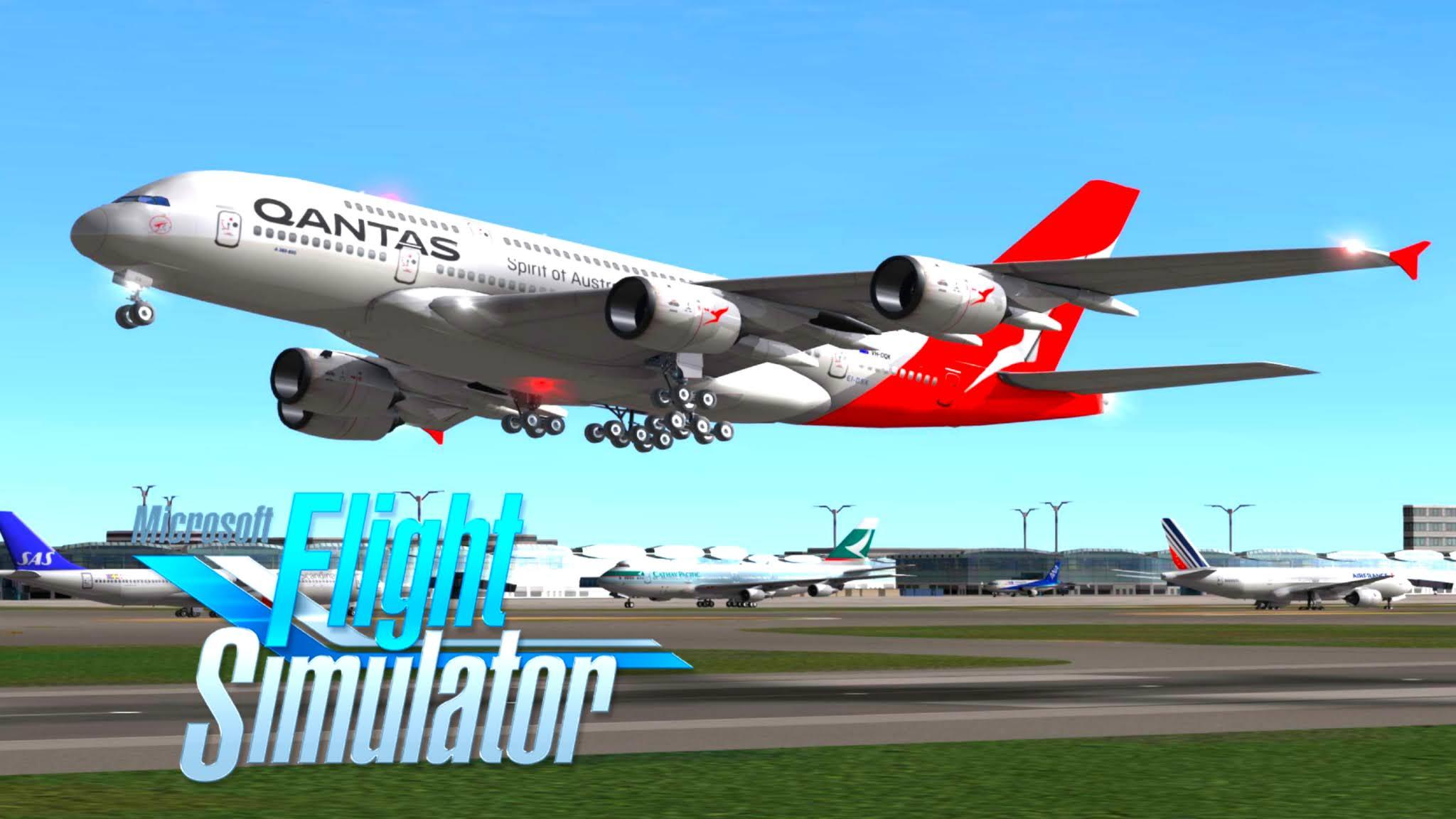 تحميل لعبة Real Flight Simulator على الأندرويد RFS جرافيك +HD
