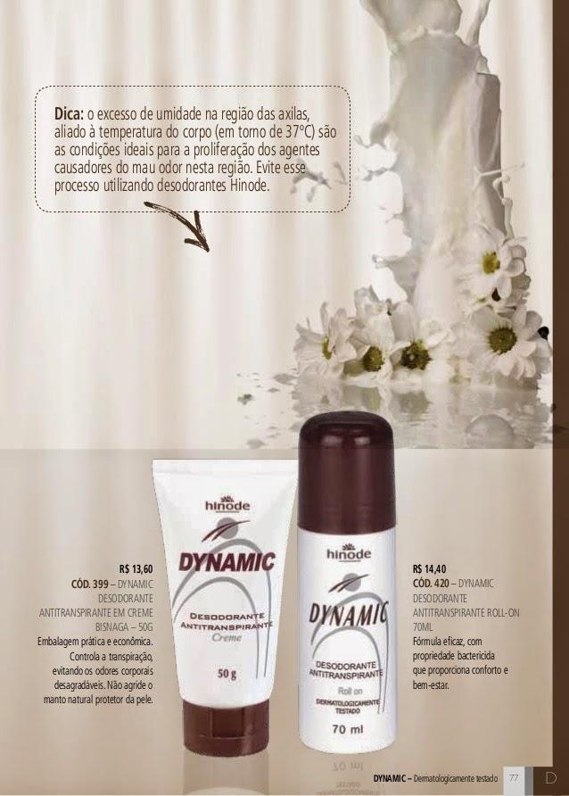 91dd6bb5f Dynamic Desodorante Antitranspirante em Creme Roll - On 70ml código  000420
