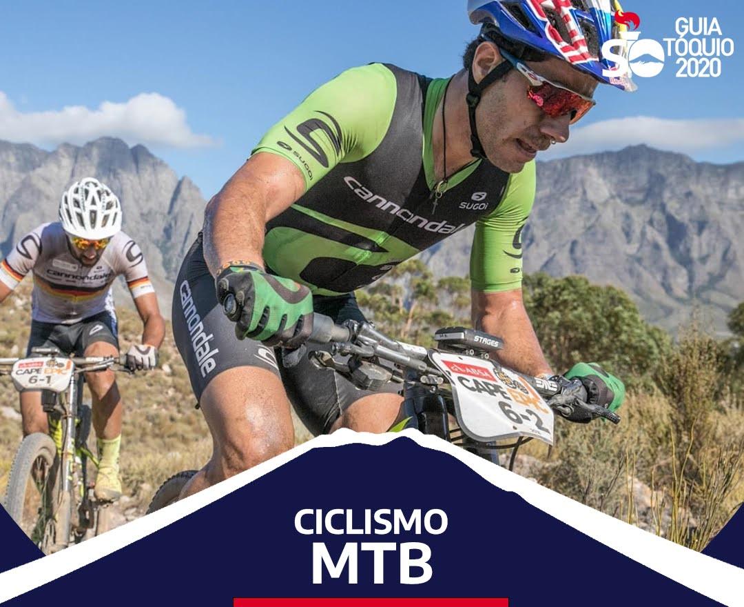 Brasileiros no ciclismo mtb em Tóquio 2020