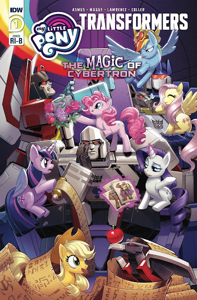 Retail Incentive Covers for The Magic of Cybeertron (MLP X Transformers Series 2)